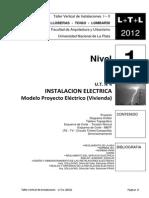 L+T+L (2012) INSTALACION ELECTRICA - Proyecto -  N1