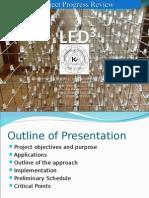 Progress Presentation for 3D led cude project