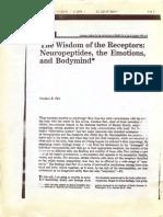 Wisdom of Receptors - C. Pert