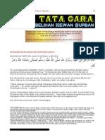 Tata Cara Menyembelih Qurban (Ustadz Asykari)
