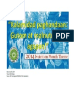 2014 Nutrition Month Theme