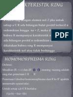 Karakteristik Ring