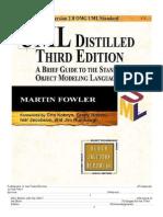 Uml Distilled, 3Rd Ed (Martin Fowler - Addison Wesley)