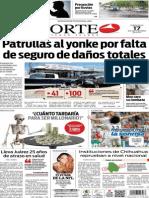 Periódico Norte edición del día 17 de septiembre de 2014