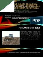 Preparacion Primaria y Secundaria Del Suelo