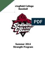 2014 Baseball Summer Program