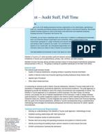 Student Audit Job Description_Full Time-Fall 2015-KSG