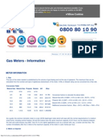 Gas Meters - Information