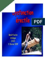 Dysfonction Erectile Ppt Fev 2009 1