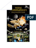 Wing Commander Role Playing Game