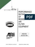 ANSI- ARI 680-2004