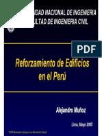 Reforzamiento de Edificios en El Perú