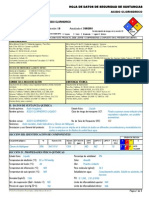 Acido Clorhidrico -----Hds Formato 13 Secciones, Qmax