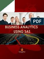 Business Analytics Using SAS