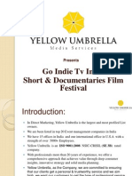Go Indie Tv Short & Documentary Film Festival