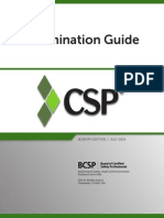 Bcsp Csp Examguide
