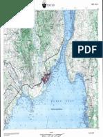Davao Topographic Map