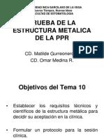 Ppr Tema 10 Prueba de La Estructura Metalica, Tema 11 Rim Raf