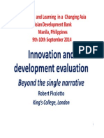 Innovation and Development Evaluation