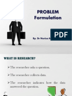 Problem Formulation Ppt Specific