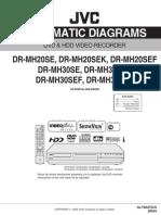 Jvc Dr-mh20_30 Dvd & Hdd Video Recorder