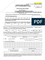 FMS BHU Application Form