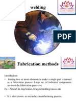 Fabrication Methods(Welding)