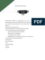 Sensor Infrared Gp2d12