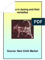 Problems in Dyeing and Their Remedies