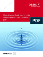 India WaterAndWaterTreatmentInIndia[1]