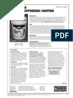 TAMKO® TAM-GUARD White Elastomeric Coating Data Sheet