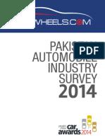 PakWheels Industry Survey 2014 - Report