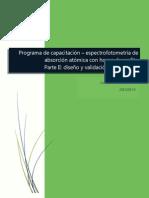 Programa de Capacitación-EAA con horno de grafito II