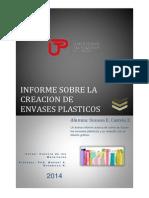 Informe Sobre Envases Plasticos