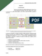 Enunciado Tarea 1 Hormigón Armado II 2014