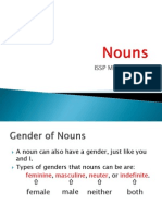 Nouns - Gender of Nouns