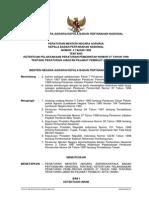 Peraturan Menteri Negara Agraria/Kepala Badan Pertanahan Nasional Nomor 4 Tahun 1999 tentang Ketentuan Pelaksanaan Peraturan Pemerintah Nomor 37 Tahun 1998 tentang Peraturan Jabatan Pejabat Pembuat Akta Tanah