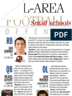 Journal Star Small Schools  All-Area Offense