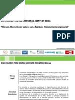 Feria de Mercados Financieros Mercado Alternativo de Valores Tutoresfx