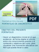 Portafolio de diagnóstico_DhiraVillanueva.pptx