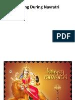 Fasting During Navratri