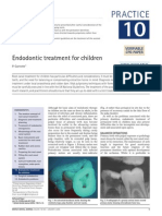10Endodontic Treatment for Children