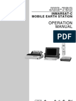 JRC JUE-75 Operator Manual