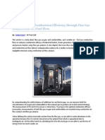 How to Enhance Combustion Efficiency Through Flue Gas Analysis and AirFuel Flow