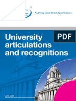 Ncc Education Articulations Booklet