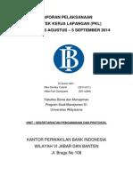 Cover Laporan PKL BI