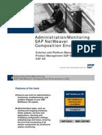 Administration_Monitoring SAP NetWeaver Composition Environment 7[1].1 SP1