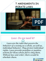Latest Amendments on Corporate Laws