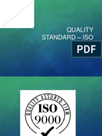 Qualitystandard-IsO 9000 and 14000