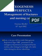 Osteogenesis Imperfecta Case Presentation